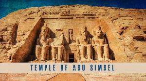 Vintage Temple of Abu Simbel, Nubia, Egypt, Africa by Take Me Away