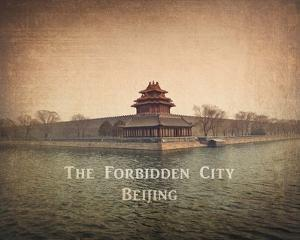 Vintage The Forbidden City in Beijing, China, Asia by Take Me Away