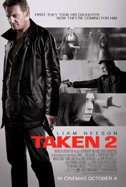 Taken 2 Movie Poster