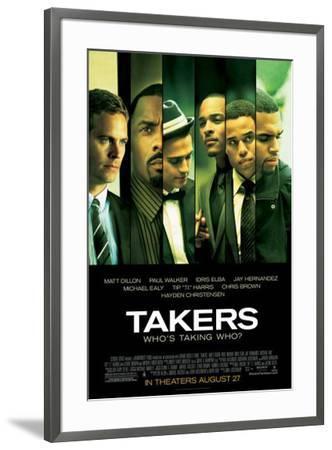 Takers--Framed Poster