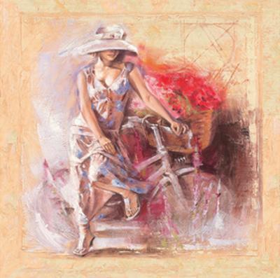 A Basket Full of Flower by Talantbek Chekirov