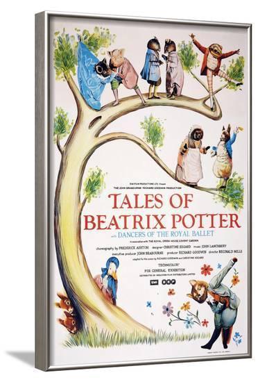 Tales of Beatrix Potter--Framed Art Print