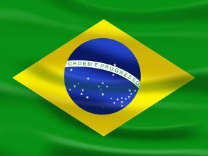 Flag Of Brazil by talitha