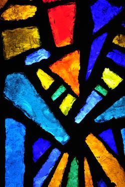 Stained Glass at the Church of the Annunciation by taln