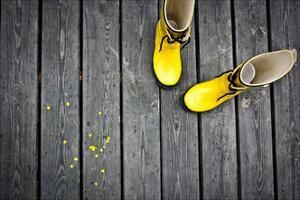 Yellow Boots by talsen
