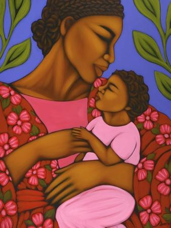 African Mother and Baby