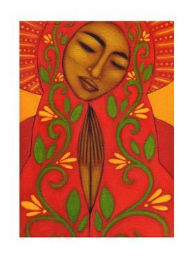 Red Madonna by Tamara Adams