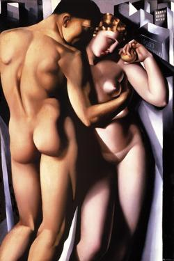 Adam and Eve by Tamara de Lempicka