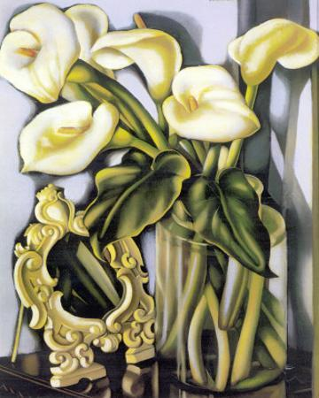 Arums III by Tamara de Lempicka