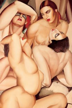 Groupe de Quatre Nus by Tamara de Lempicka