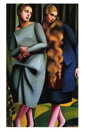 Irene and Her Sister by Tamara de Lempicka