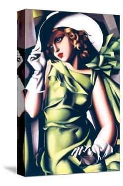 Jeune Fille en Vert by Tamara de Lempicka