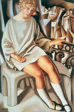 Kizette au Balcon by Tamara de Lempicka