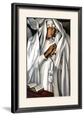 La Communiante, c.1929 by Tamara de Lempicka