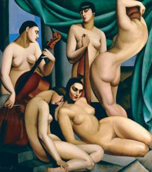 Le Rythme by Tamara de Lempicka
