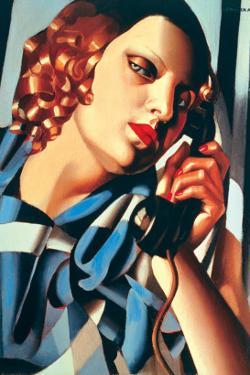 Le Telephone II by Tamara de Lempicka