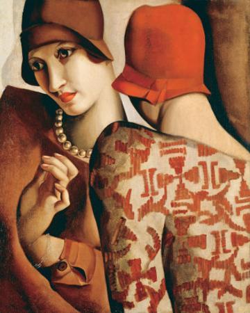 Les Confidences by Tamara de Lempicka