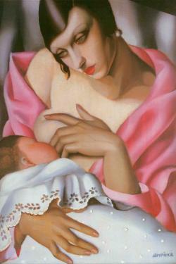 Maternite by Tamara de Lempicka