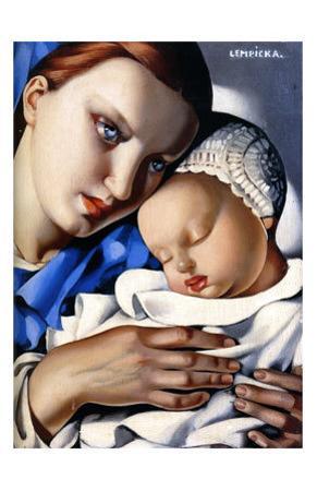 Mother and Child by Tamara de Lempicka