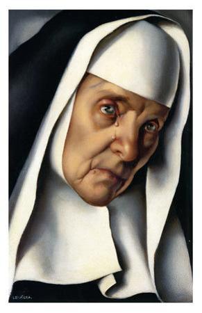 Mother Superior, c.1935 by Tamara de Lempicka