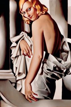 Portrait de Marjorie Ferry by Tamara de Lempicka