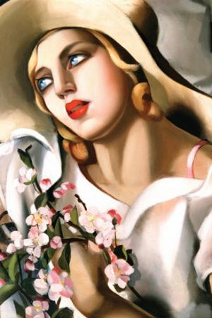 Portrait Fille by Tamara de Lempicka