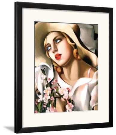 Portrait Fille by Tamara de Lempicka