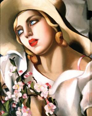 Portrait of a Girl by Tamara de Lempicka