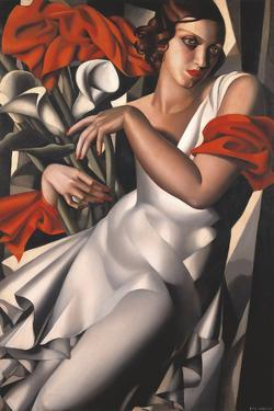 Portrait of Ira Perot by Tamara de Lempicka
