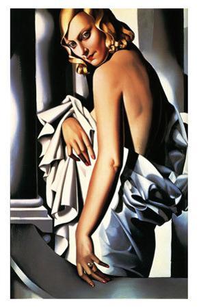 Portrait of Marjorie Ferry, c.1932 by Tamara de Lempicka