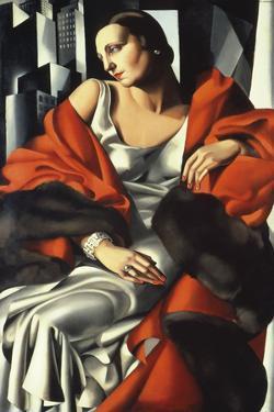 Portrait of Mrs Boucard by Tamara de Lempicka