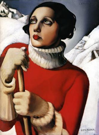 St. Maurice, c.1929 by Tamara de Lempicka