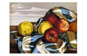 Still Life with Apples and Lemons by Tamara de Lempicka