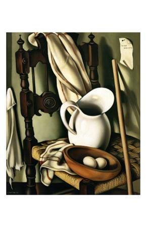 Still Life with Eggs, c.1941 by Tamara de Lempicka