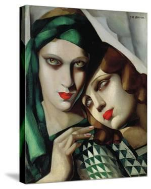 The Green Turban by Tamara De Lempicka