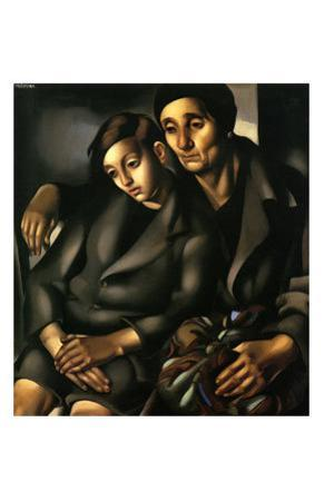 The Refugees, c.1931 by Tamara de Lempicka