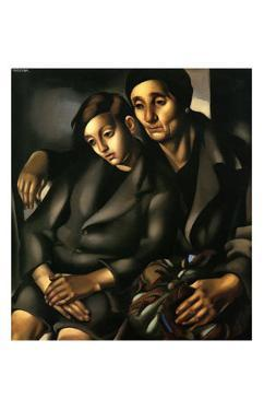 The Refugees, c.1931 by Tamara de Lempicka