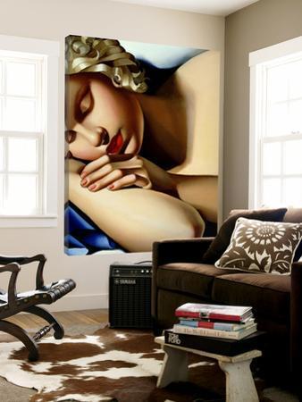 The Sleeping Girl I by Tamara De Lempicka