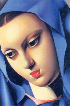 Vierge Bleue by Tamara de Lempicka