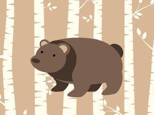 Bear Birch 1 by Tamara Robertson