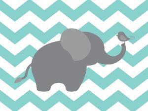 Elephant Chevron by Tamara Robertson