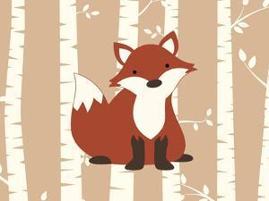 Fox Birch 1 by Tamara Robertson