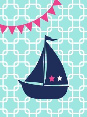 Sailboat Chain 2 Girl by Tamara Robertson