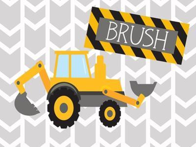 Construction Brush by Tamara Robinson