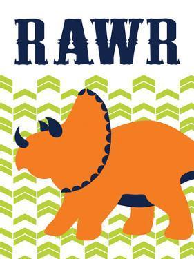 Dino Rawr by Tamara Robinson
