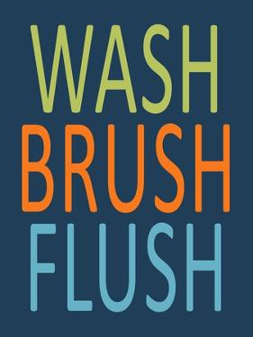 Fish Wash Brush Flush by Tamara Robinson