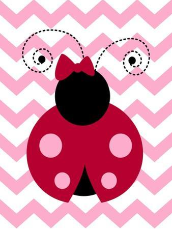 Ladybug Chevron by Tamara Robinson
