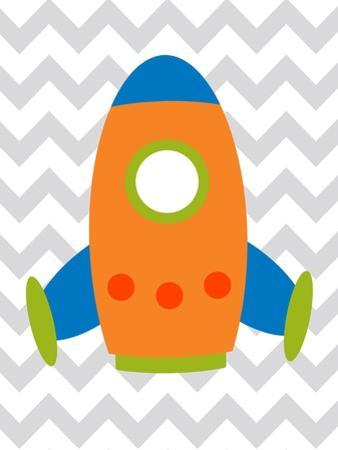 Rocket Chevron 1 by Tamara Robinson