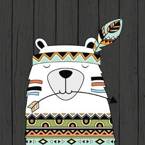 Tribal Bear by Tamara Robinson