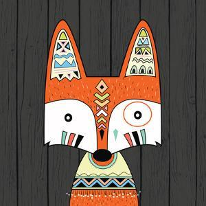 Tribal Fox by Tamara Robinson